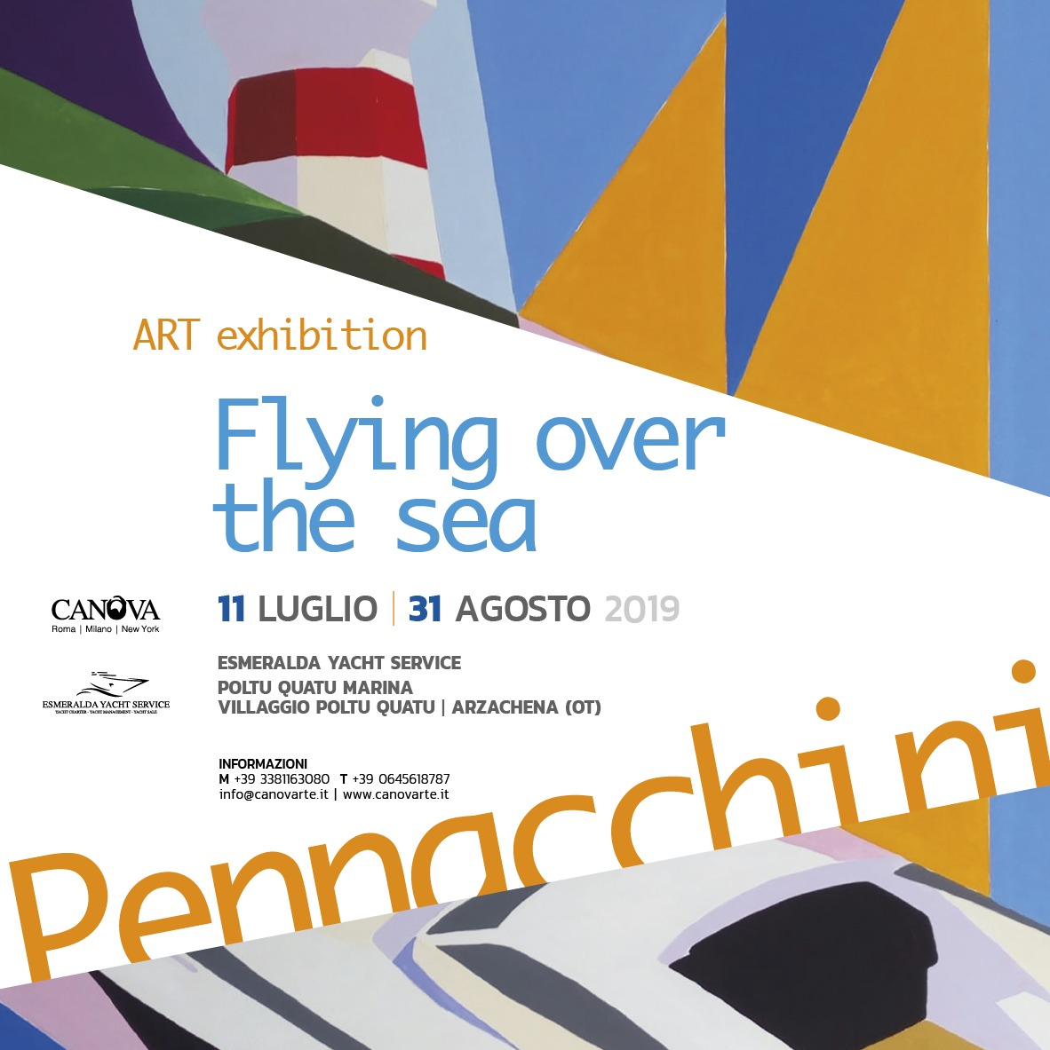 "Massimo Pennacchini ""Flying over the sea"""