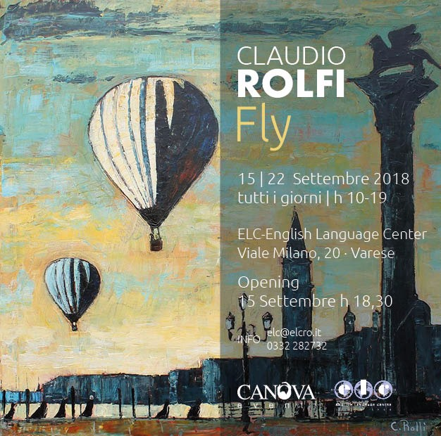 """Claudio Rolfi, """"Fly"""", mostra personale"""
